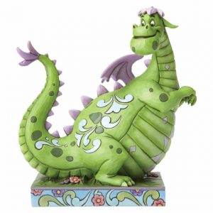 green dragon figurine