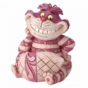 pink cheshire cat smiling