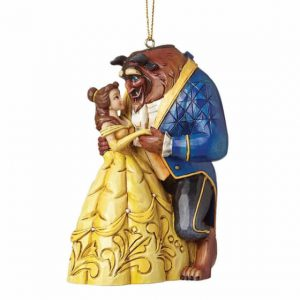 belle and beast figurine