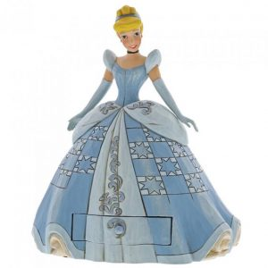 cinderella in a blue dress