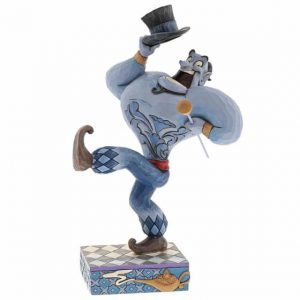 Genie from aladdin with top hat and cane