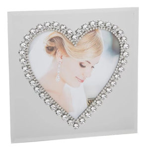 Diamond Heart Wedding Engagement