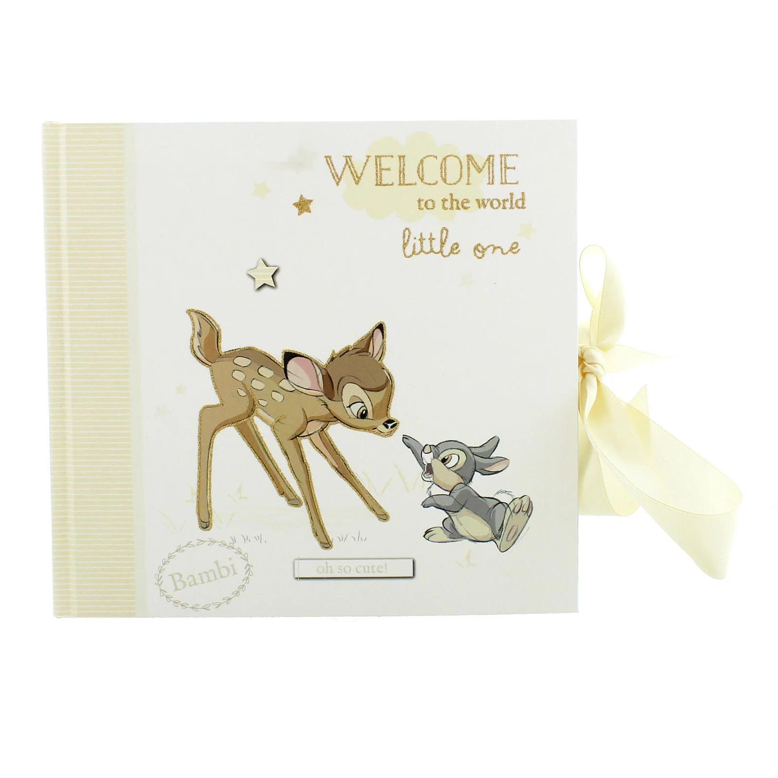 Disney Magical Beginnings Bambi & Thumper Baby Photo Album