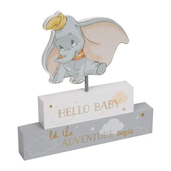 Disney Dumbo Magical Beginnings Mantel Block