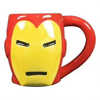 Marvel Comics 3D Ironman Mug