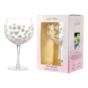 Sunny By Sue Flower Large Gin & Tonic Glass