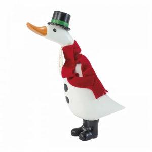 DCUK Natural Christmas Snowman Duckling