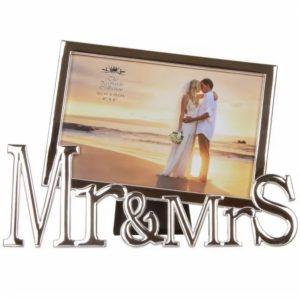 Mr & Mrs Photo Frame