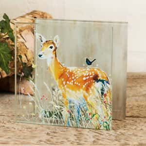 Wildlife Collection Deer Candle Tealight Holder