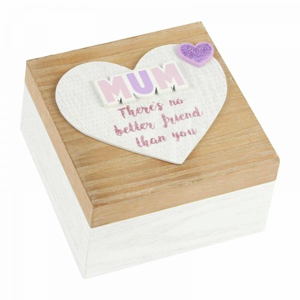 Shabby Chic Mum Keepsake Memories Box
