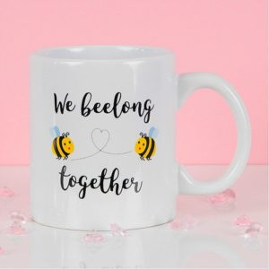 True Valentines We Beelong Together Mug