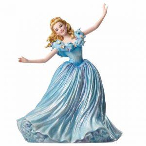 Cinderella in a blue gown