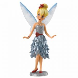 Tinkerbell in a silver dress