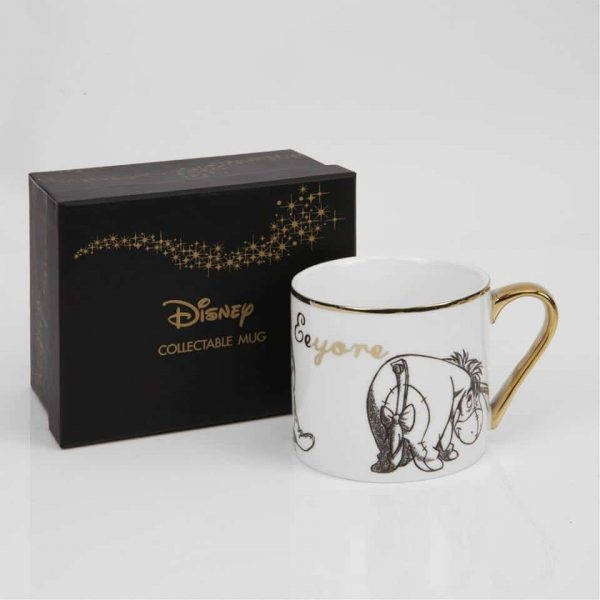DISNEY CLASSIC COLLECTABLE NEW BONE CHINA MUG - EEYORE