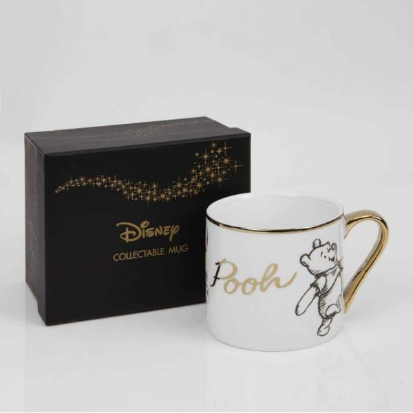 DISNEY CLASSIC COLLECTABLE NEW BONE CHINA MUG – POOH