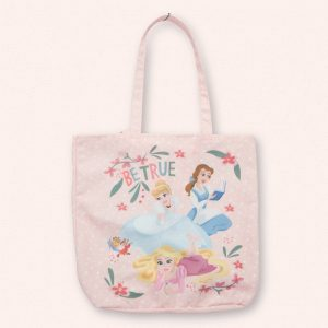 pink princess tote bag