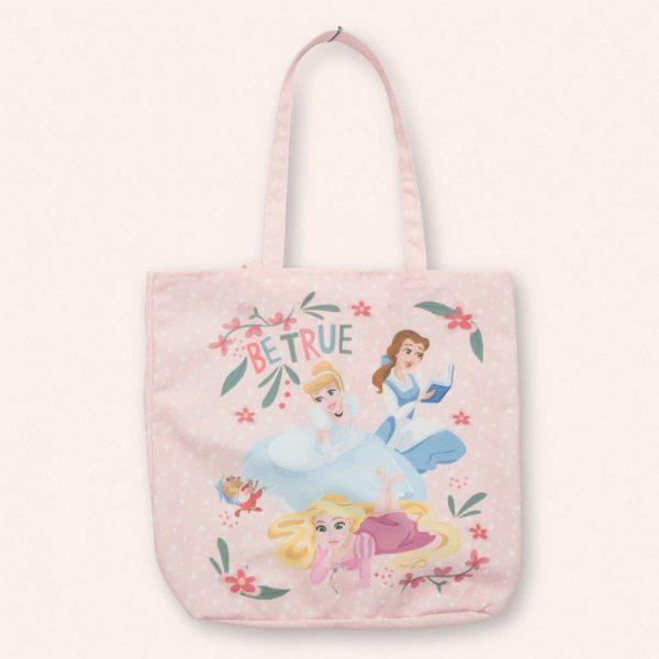 pink princess tote bag