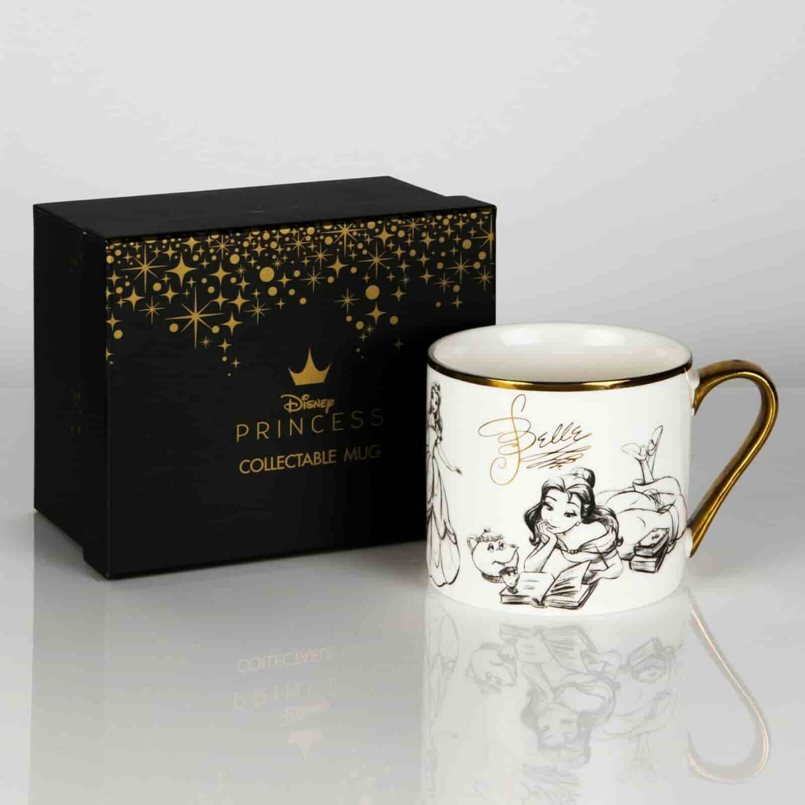 Disney Classic Collectable Beauty Beast Belle Coffee Mug Treasured Gifts For You