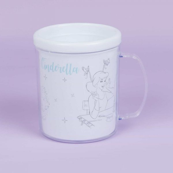 disney colouring cup