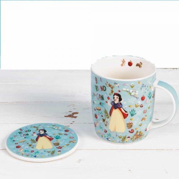 Disney mug and coaster set