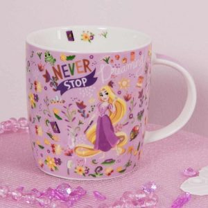 disney princess cup and coaster set