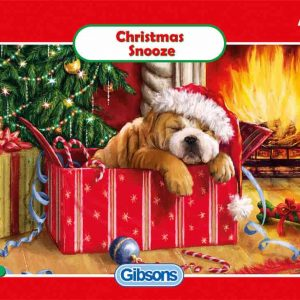 GIBSONS JIGSAW PUZZLE - CHRISTMAS SNOOZE