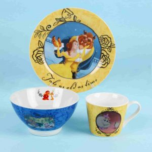 beauty and the beast dinner set