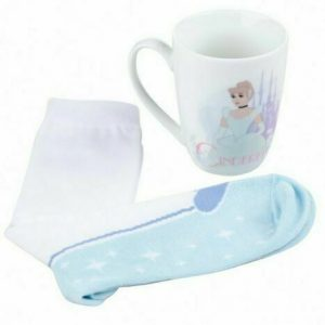 cinderella mug and sock set
