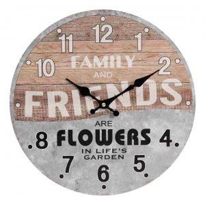 Rustic Vintage Wall Clock