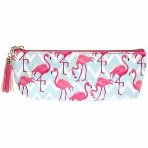 Flamingo Bay Pink/Blue Make Up Bag