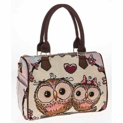 EQUILIBRIUM OWL BARREL BAG