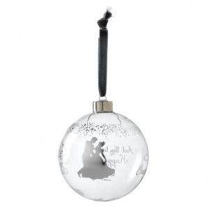 Cinderella Wedding Bauble