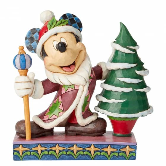 Disney Traditions Mickey Mouse Jolly Ol St Mick Figurine