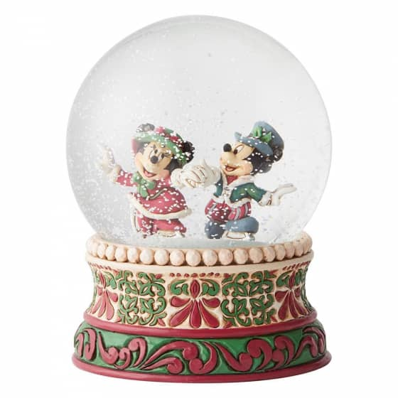 Victorian Mickey & Minnie Mouse Waterball