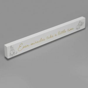 CINDERELLA DESK PLAQUE