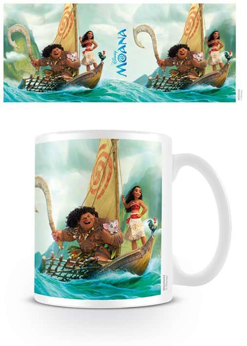 Moana (Boat) Coffee Mug