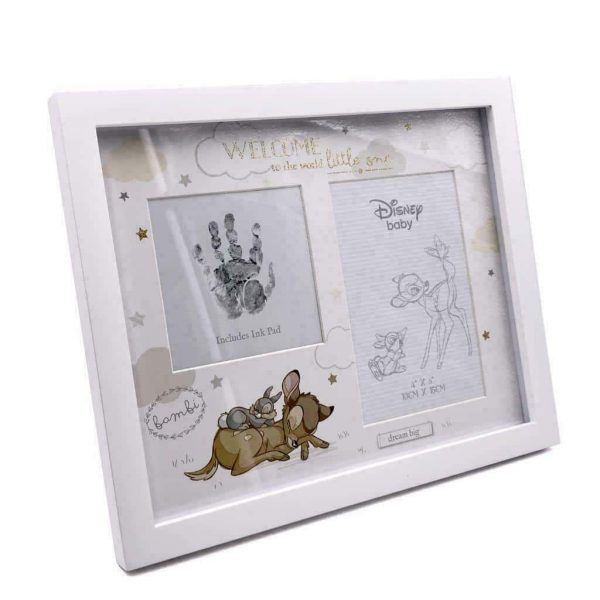 Disney Baby Hand Print & Photo Frame BAMBI