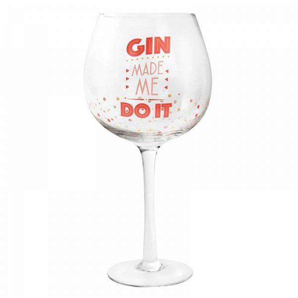 LARGE GIN & TONIC GLASS