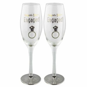 Set Of 2 Engagement Glasses