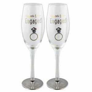 Set Of 2 Engagement Glasses