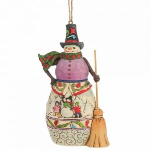 Heartwood Creek Winter Scene Snowman