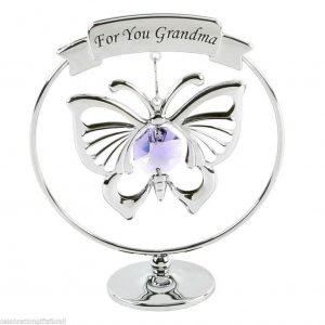"CRYSTOCRAFT CRYSTAL "" FOR YOU GRANDMA """