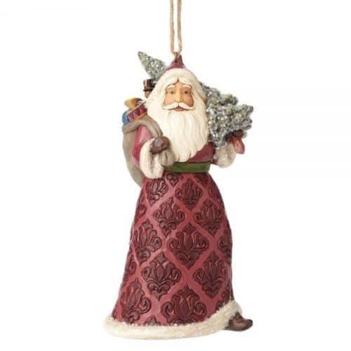 Jim Shore Heartwood Creek Victorian Santa