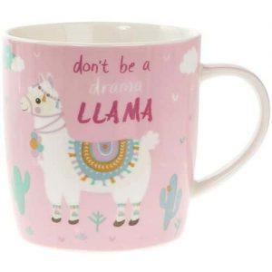 Llama Novelty Coffee Mug