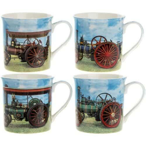 Traction Engine Mugs