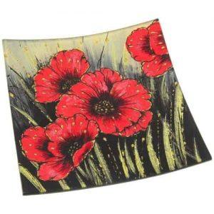 Poppy Flower Tray
