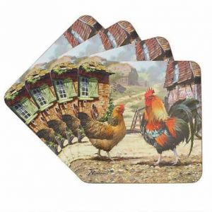 Set Of Four 4 Placemats