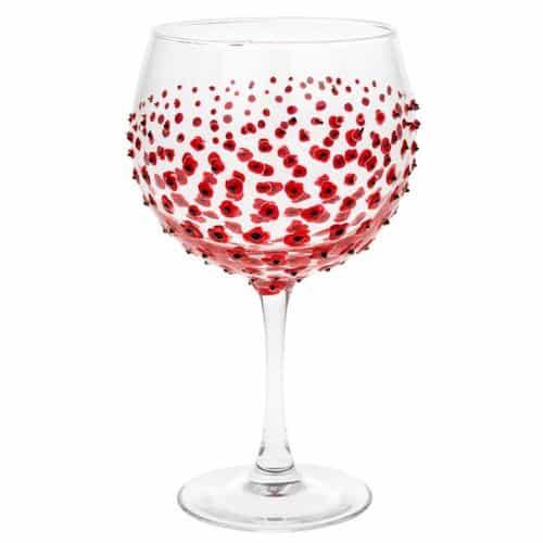 Poppy Gin glass