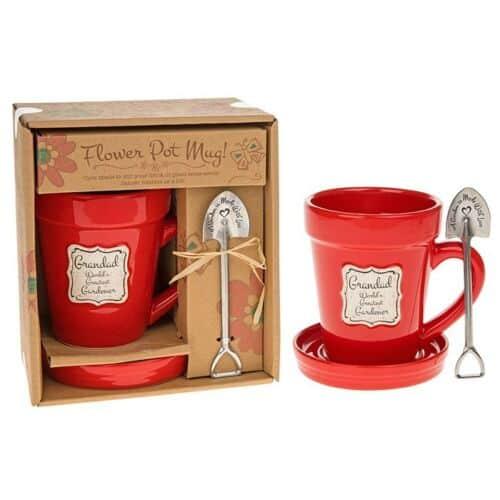 Flowerpot coffee mug