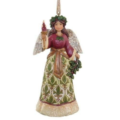 Jim Shore Heartwood Creek Victorian Holly Angel